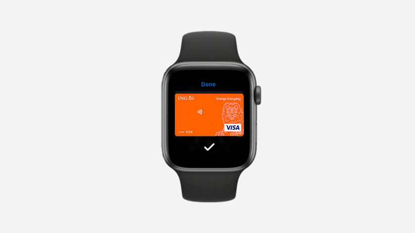 Apple Watch Apple Pay ING