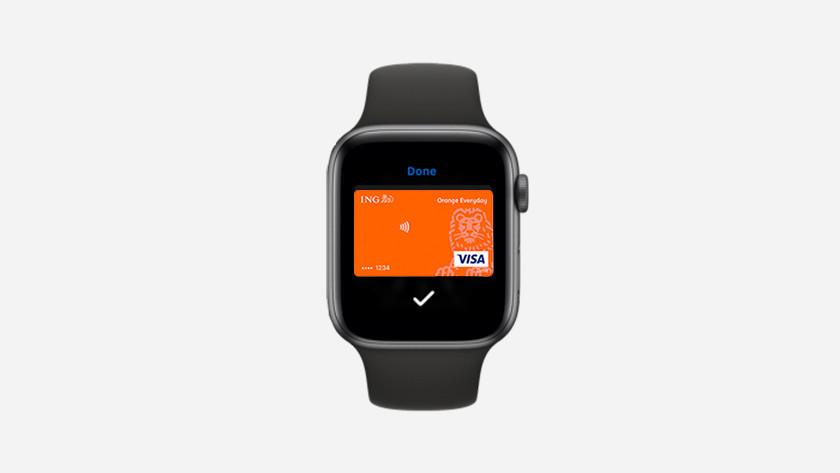 Apple Watch Apple Pay ING