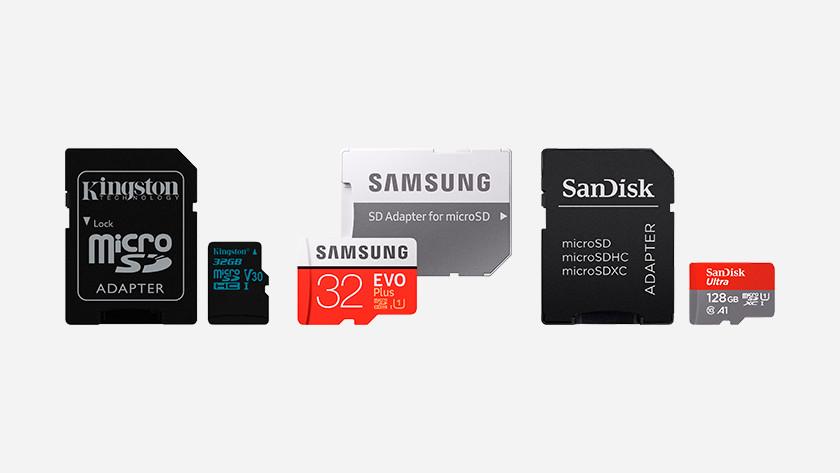MicroSDHC kaarten