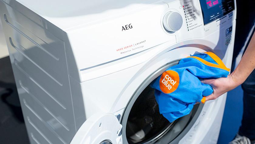 Wasmachine gebruiken