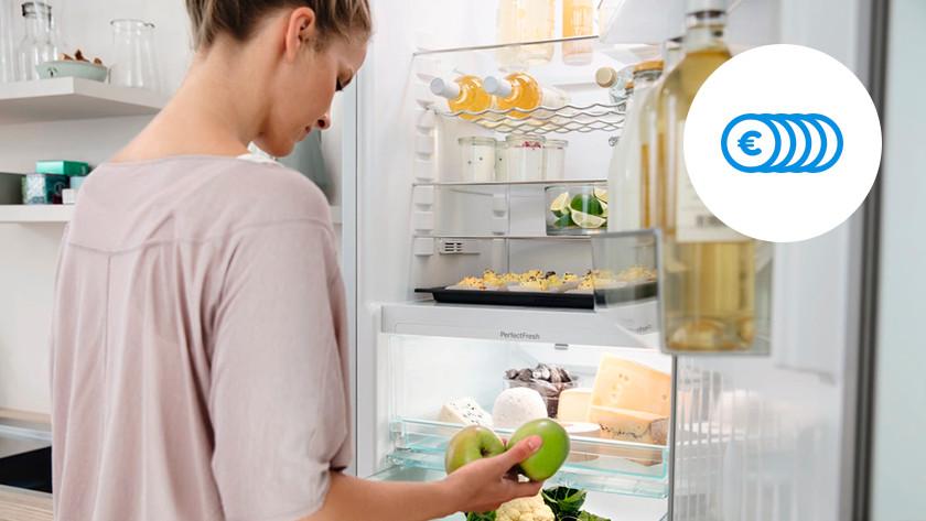 Savings A+++ fridge freezer combination