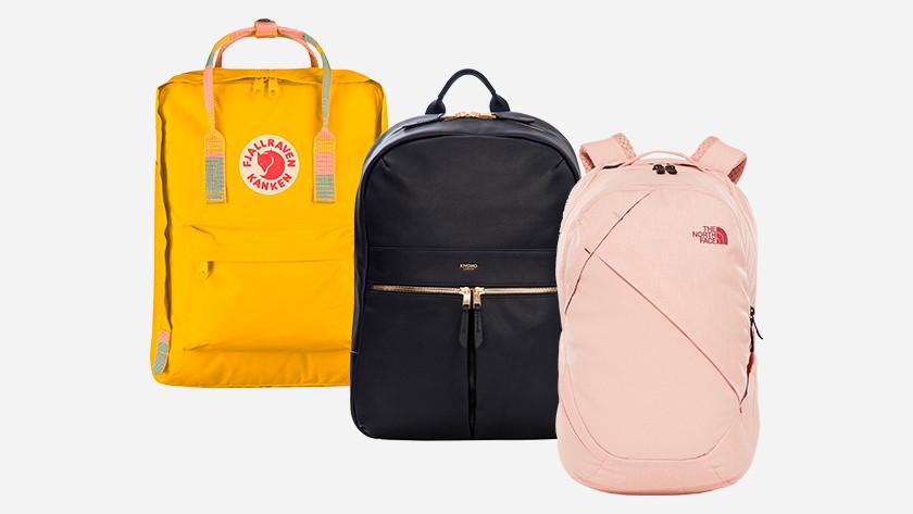 e8571290f49 Elk jaar zijn er weer nieuwe trends op het gebied van rugzakken. Zoals  rugzakken met printjes, kleine rugzakken of leren tassen.