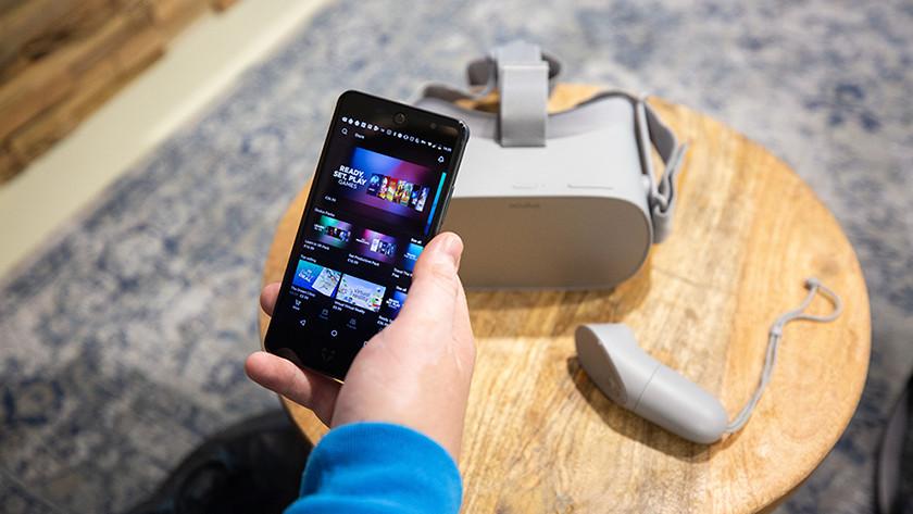 Oculus Go instellen