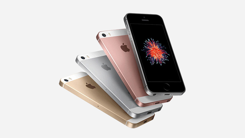 The iPhone SE (2016) colors