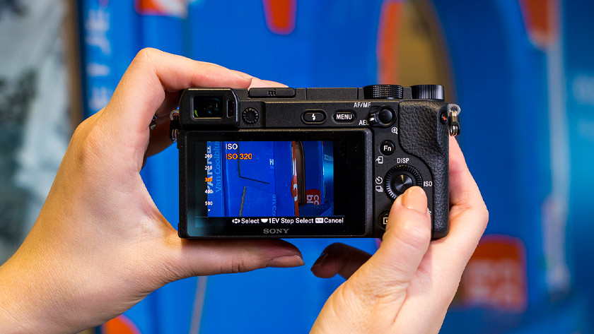 Camera ISO values