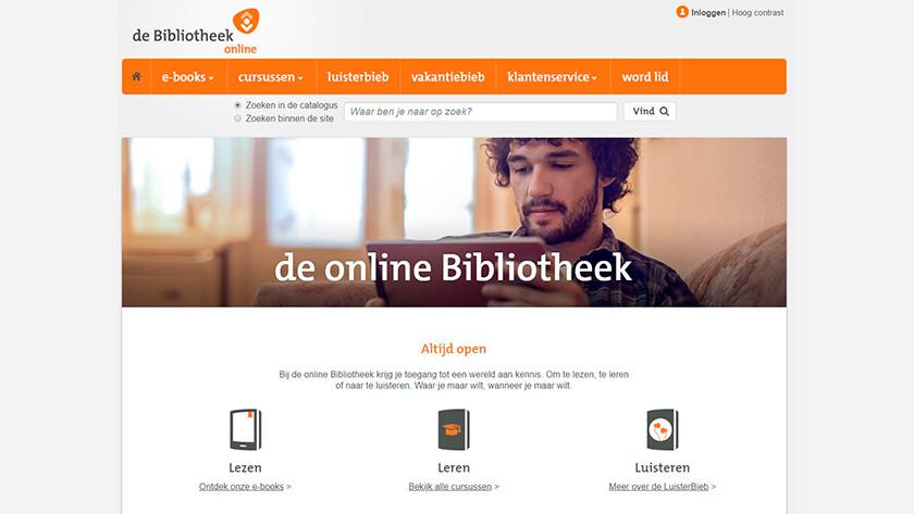 online bibliotheek e-books lenen