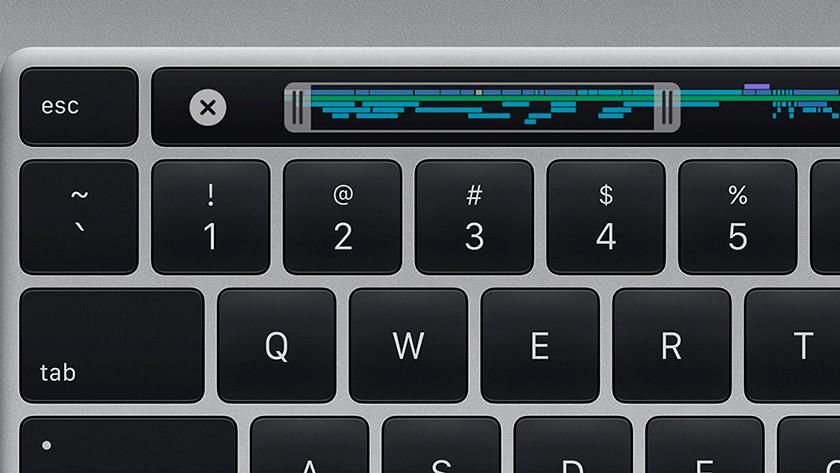 Apple MacBook Pro 16 inches keyboard