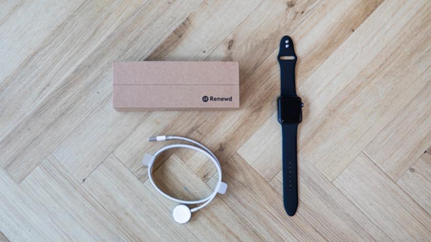 Refurbished Apple Watch met accessoires