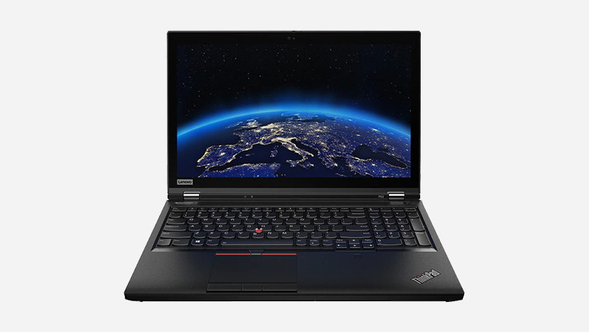 Een lenovo workstation laptop.
