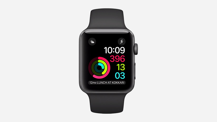 Apple Watch 2 gebruikssituatie