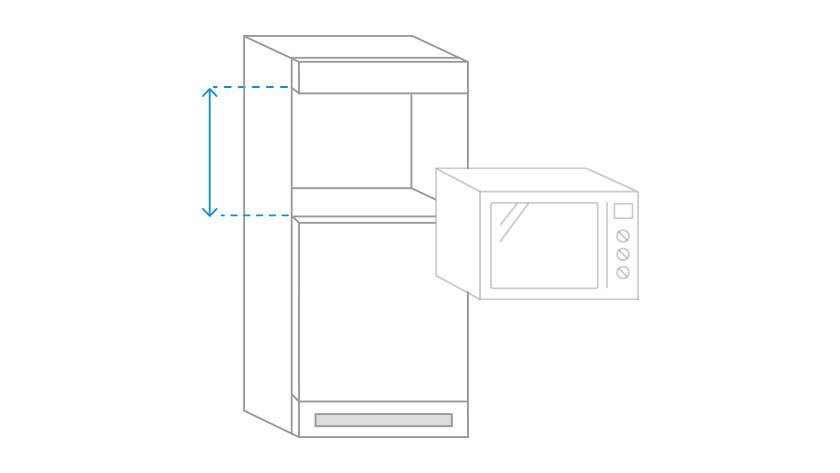 Ongebruikt Hoe weet ik of de oven of magnetron in mijn keuken past VB-88