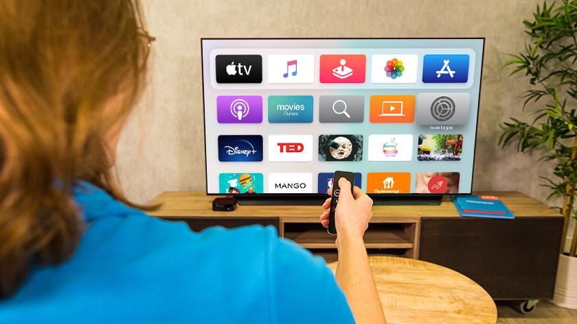 Aan de slag met Apple TV