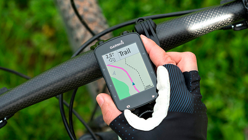 Going on bike rides with bike navigation