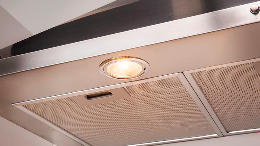 Wall-mounted range hood light