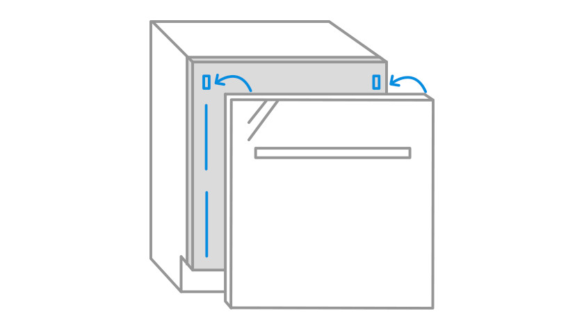 Drawing front panel