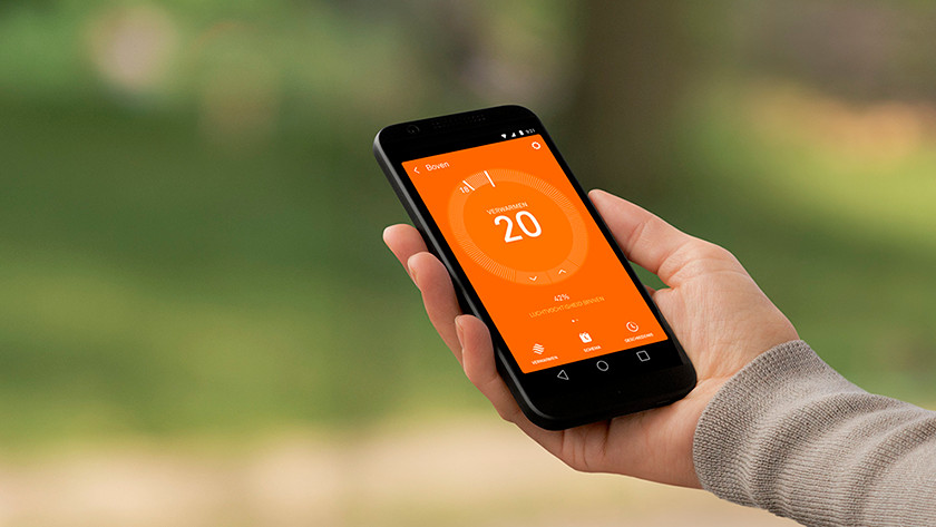 Thermostaat smartphone
