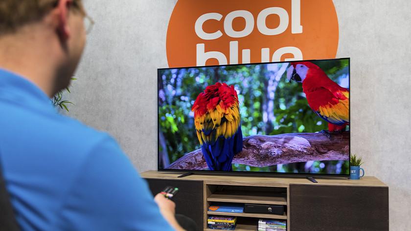 Scherpe en kleurrijke beelden van de Sony A8 OLED tv