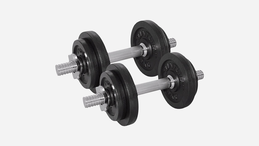 Train dumbbell's arms