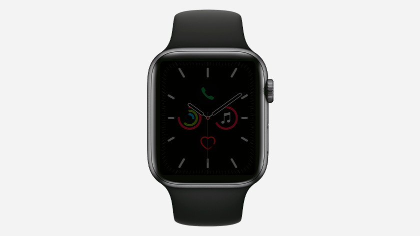Apple Watch Series 5 always on display