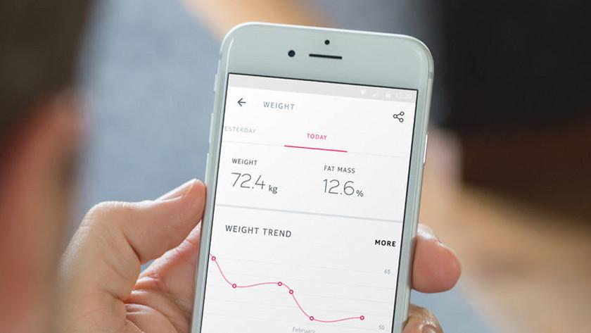 gewicht monitoren weegschaal