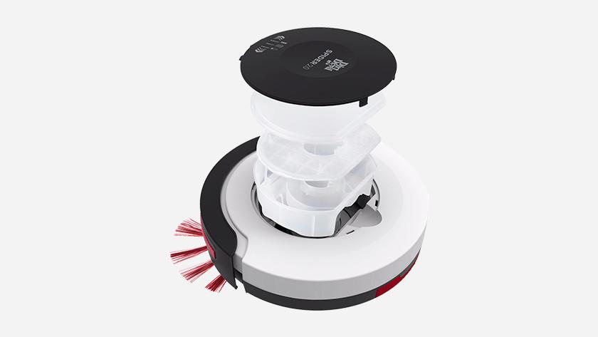 Clean filter robot vacuum