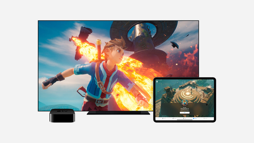 Apple TV gaming with Apple Arcade
