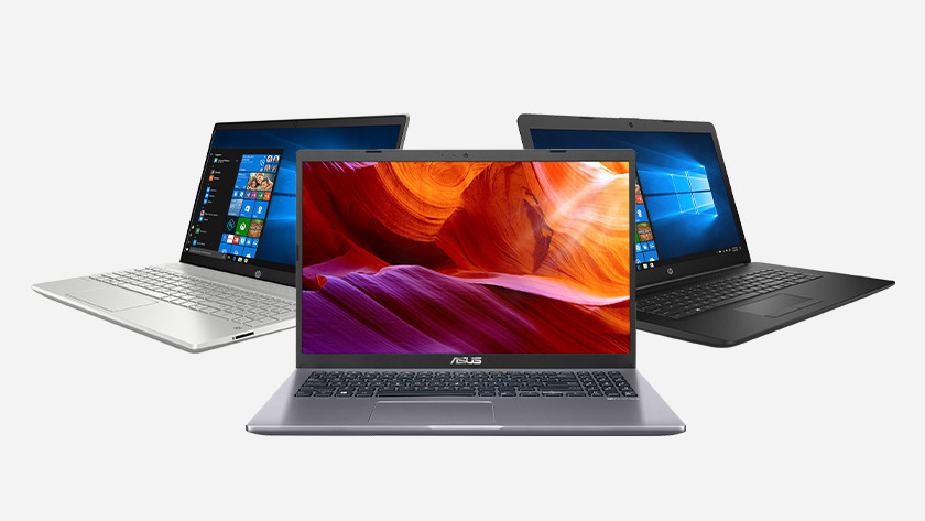 Aanbod Windows laptops