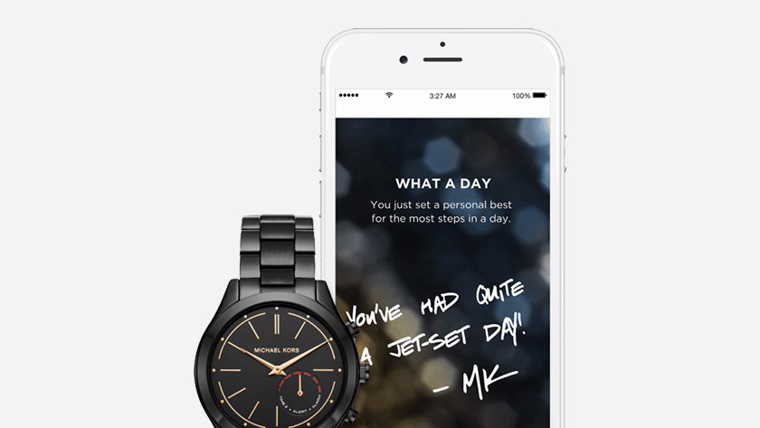 Hybride horloge en telefoon