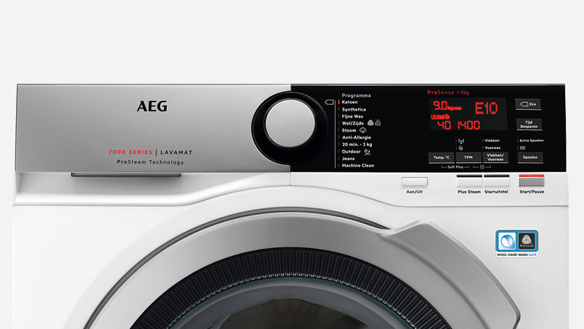 AEG storing E10