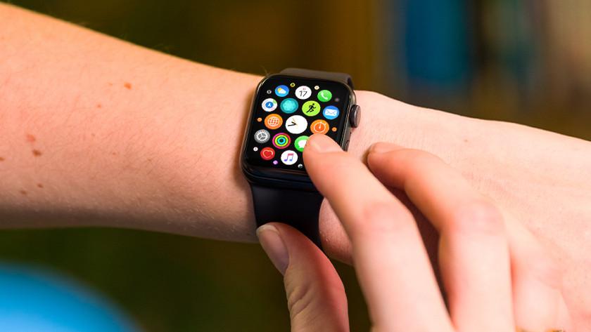 Apple Watch opslagcapaciteit