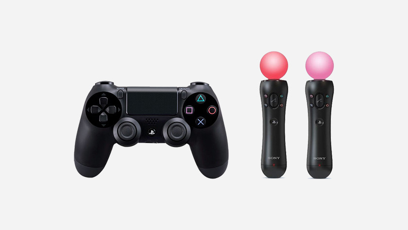 36bdda9cb8bb1a De besturing van de PlayStation VR verloopt via een Dualshock controller of  de PlayStation Move controllers. Beide worden getraceerd door de PlayStation  ...