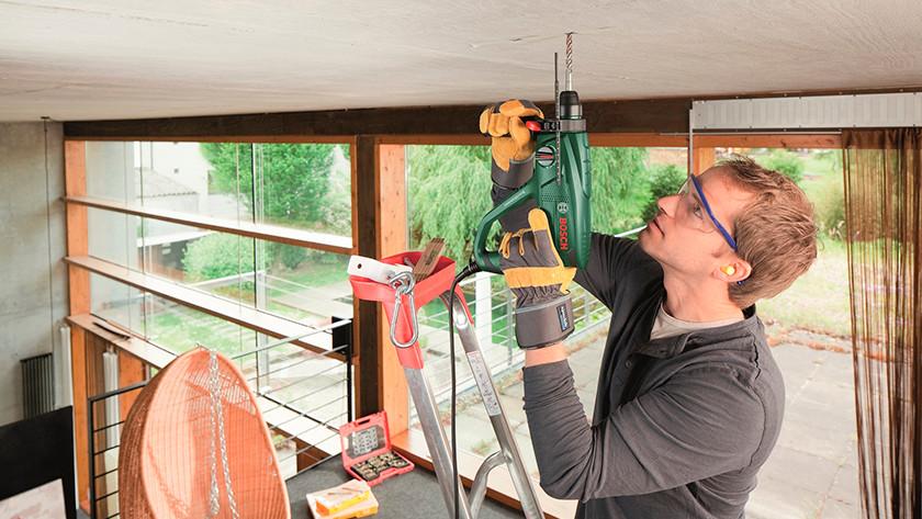 Weight hammer drill