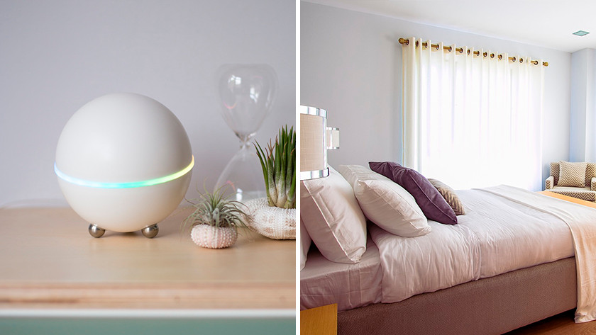 Smart products in the bedroom