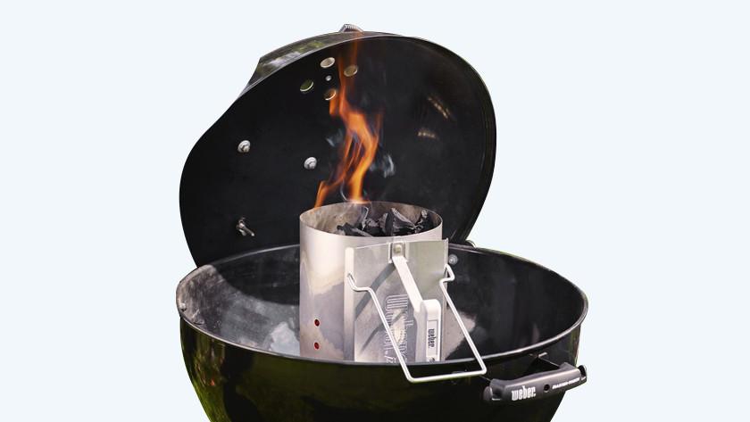 Kolen snel heet krijgen