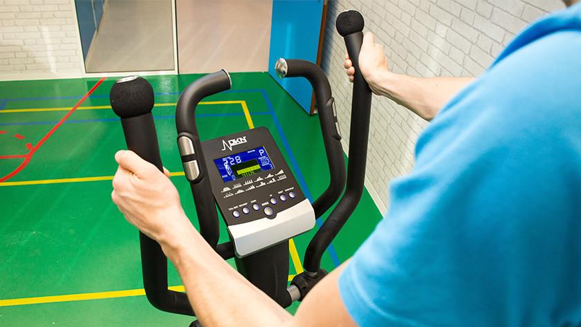 Training on an elliptical