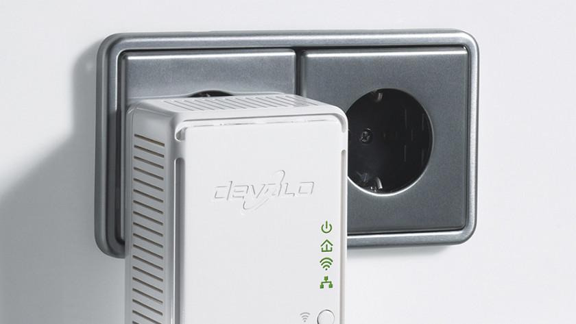Ip-camera powerline adapter