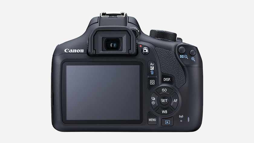 Operation of the Canon EOS 1300D