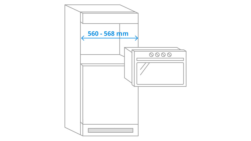Niche width microwaves