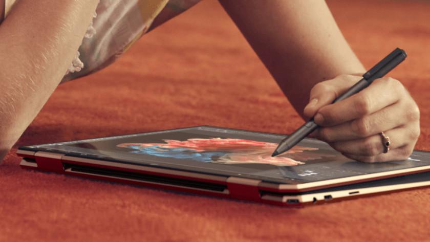 Foto's bewerken op HP laptop met HP Tilt Pen