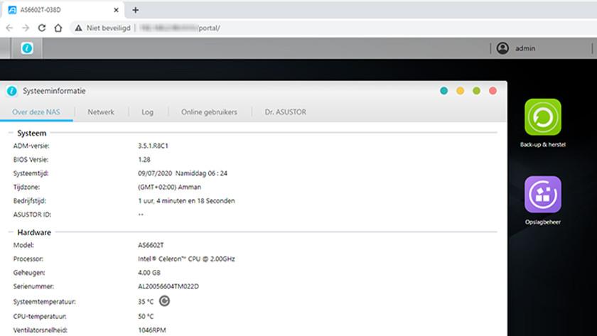 Check je RAM met een Synology, QNAP of Asustor NAS