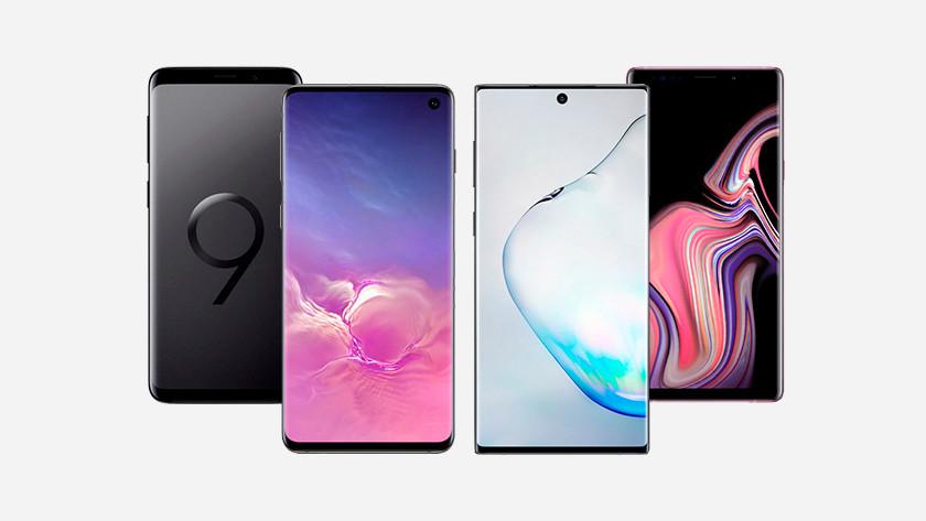 Samsung Galaxy S en Note waterdicht