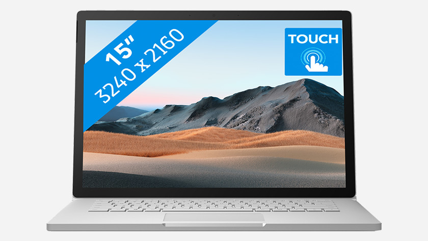 Microsoft Surface Book 3.
