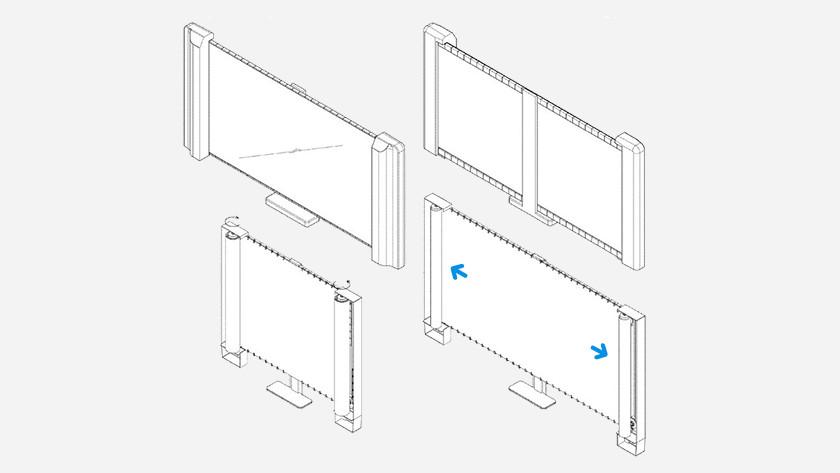 Samsung oprolbare tv