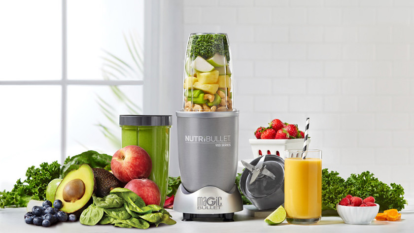 nutribullet 900 met extra mengbekers en fruit