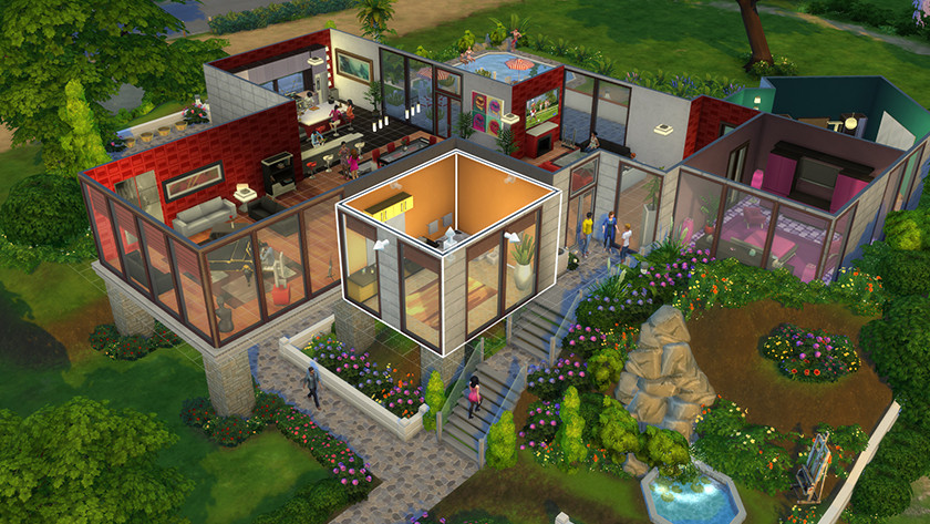 De Sims screenshot