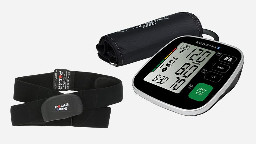 Hartslagmeter en bloeddrukmeter