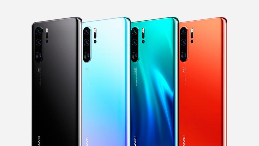 Huawei p30 pro achterkant kleur design