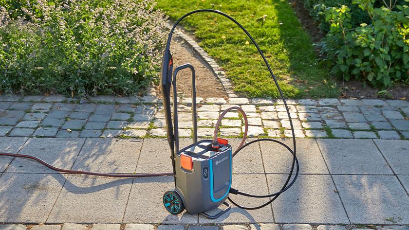 Garden hose and high-pressure hose