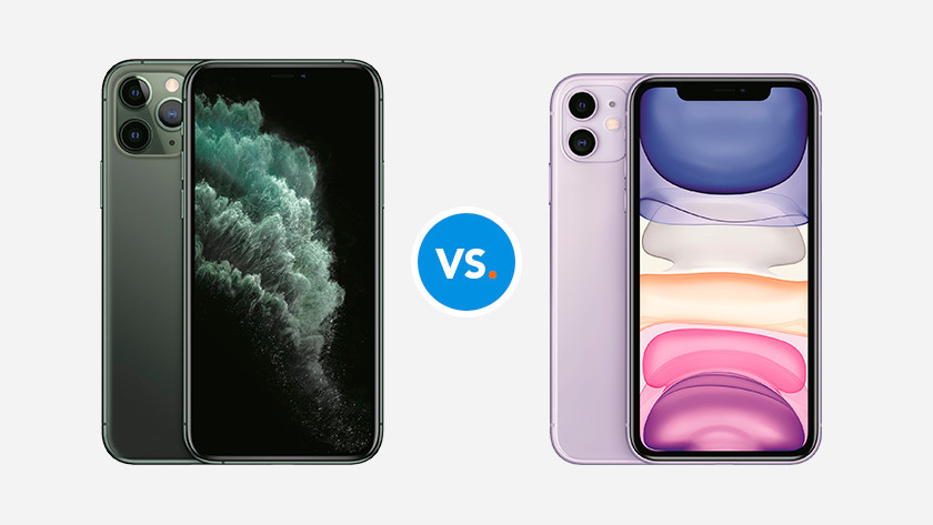 iPhone 11 Pro versus iPhone 11