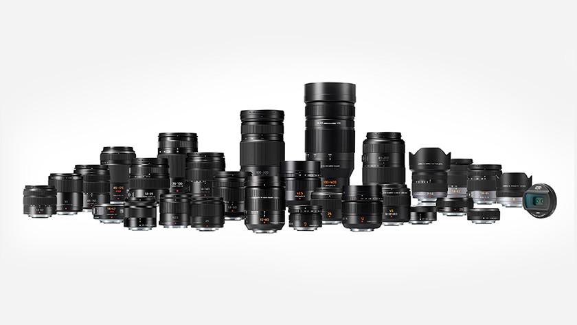 Panasonic Micro Four Thirds en Leica lenzen